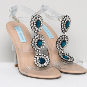 Transparante trouwschoenen Betsey Johnson